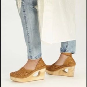 NEW Free People Teagan Wooden Clog